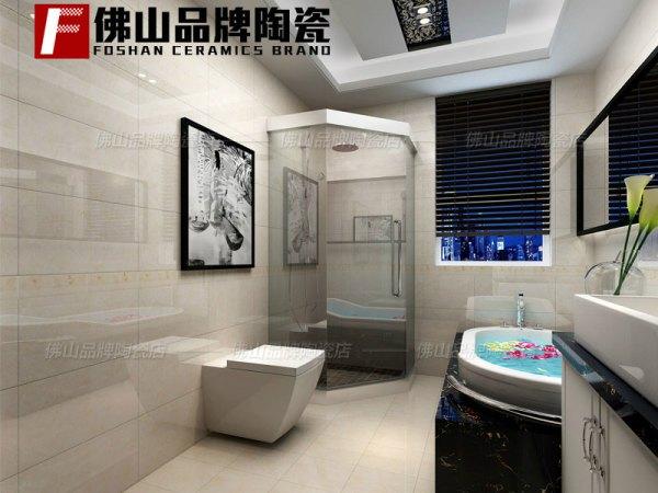 佛山品牌瓷砖卫生间防滑300x600厨房地砖釉面砖简约墙砖