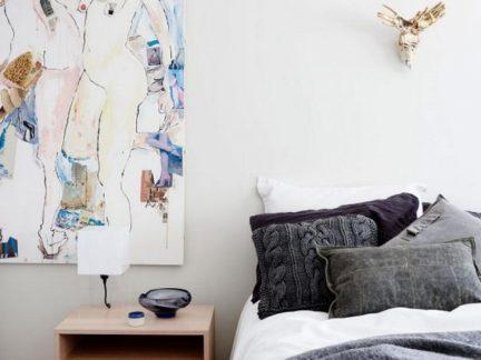 艺术现代简约风格创意卧室装修设计