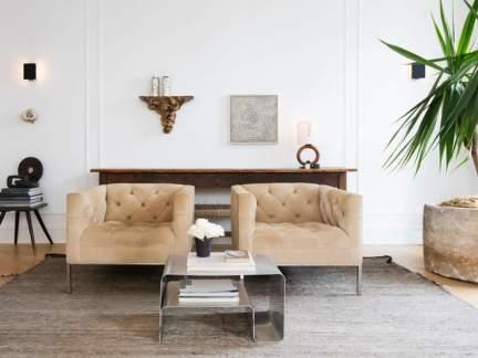 现代风格时尚客厅个性茶几装修效果图