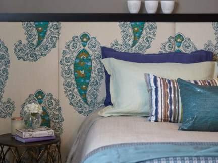 田园风格温馨甜美卧室床头柜图片欣赏