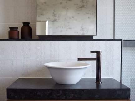 简约风格利落大气卫生间洗手台设计图