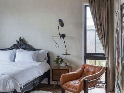 欧式风格典雅柔美卧室装修效果图