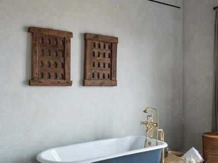 自在混搭风格卫生间舒适浴缸效果图