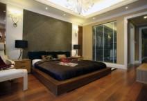 多喜爱 国色天香 缅甸玛宝木三层实木复合地板工厂直销图片