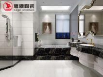 鹰牌陶瓷 厨卫瓷砖墙砖 铂金石代 厨房瓷砖防滑地板砖卫生间瓷图片