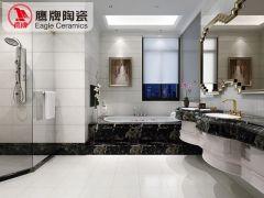 鹰牌陶瓷 厨卫瓷砖墙砖 铂金石代 厨房瓷砖防滑地板砖卫生间瓷