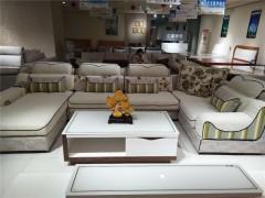 现代简约 沙发 从容有型 可调节靠背厚实座包经典灰色布艺转角