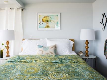 恬静优雅田园风格卧室装修实景图