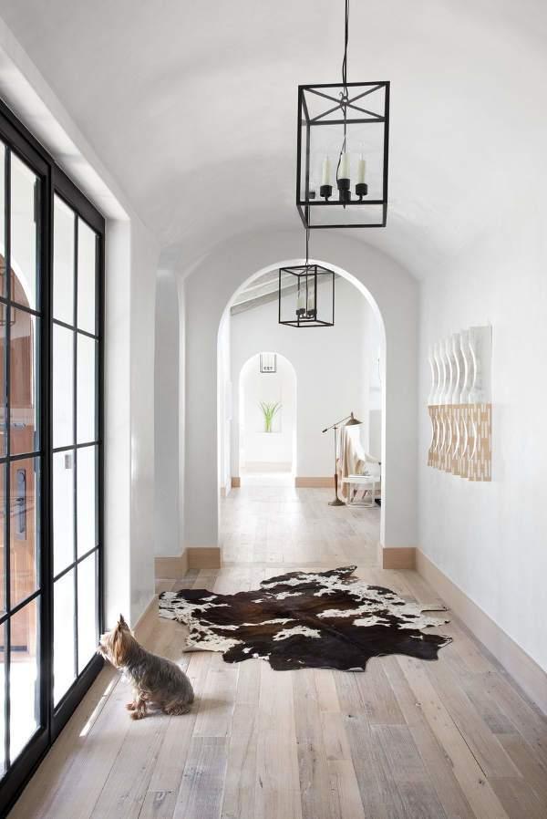 浪漫白色欧式风格走廊装修效果图