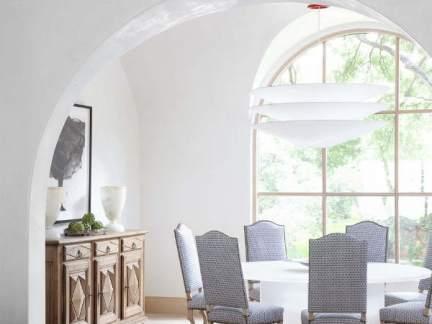 明亮温馨欧式风格优雅餐厅装修图片