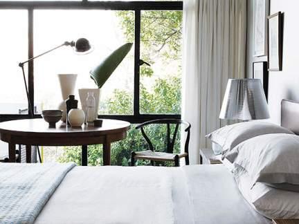 简洁优雅现代风格卧室装修图片