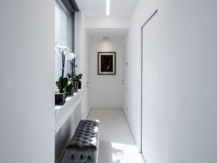 简约风格纯净优雅白色走廊设计图