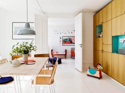100平优雅公寓 法式与北欧的浪漫邂逅