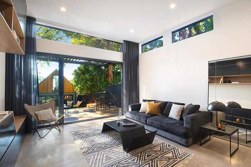 时尚现代风格别墅设计客厅装修图片