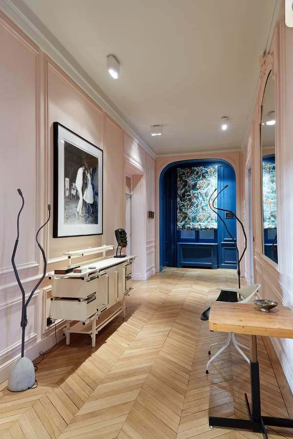 精致奢华欧式风格走廊装修设计图
