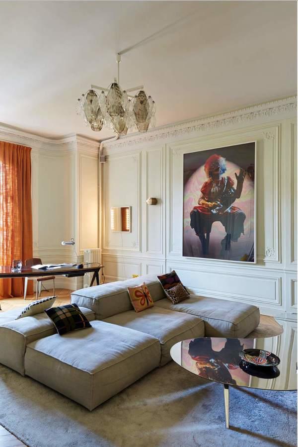 现代风格温馨闲适客厅沙发装修图片