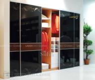 联邦高登卧室家具衣柜SG-809_2 绅士黑图片