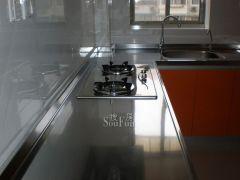 斯诺威橱柜不锈钢台面