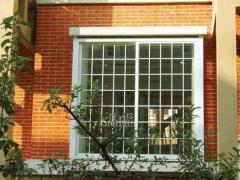 瑞盾塑钢改装中空防护窗 防护纱窗