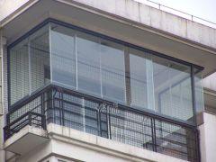 思壮金盾系列无框阳台平移推拉式窗