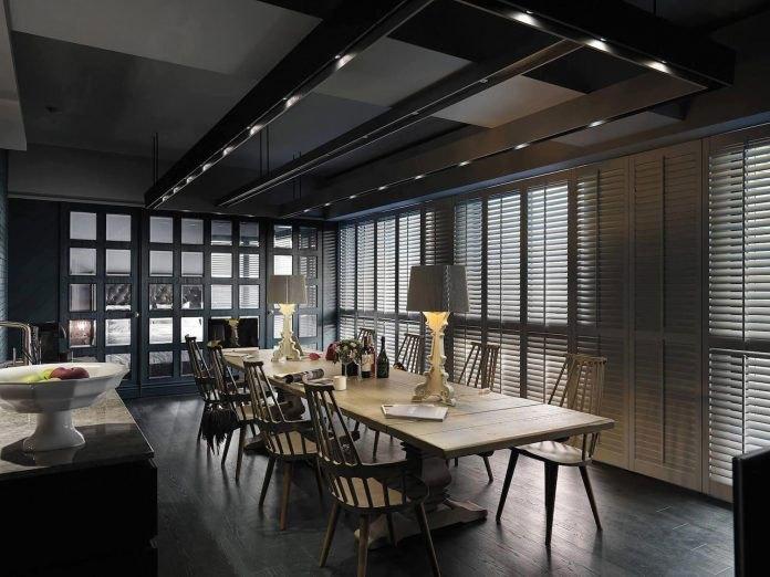 欧式风格精致大气餐厅装修效果图