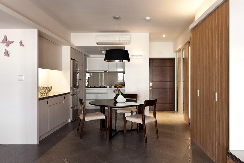 家装都市现代风格纯净餐厅装修设计