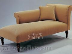 大风范家具低调伯爵卧房系列CL-922贵妃椅