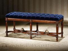 大风范家具路易十六卧室系列LV-820床前凳