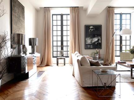 优雅法式情怀 120平怀旧风精致公寓