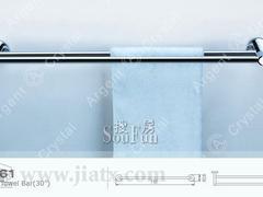 银晶30寸双层毛巾杆(700mm) 20061