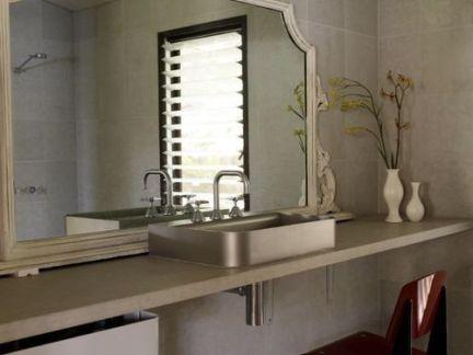 典雅欧式风格洗手台装修设计图
