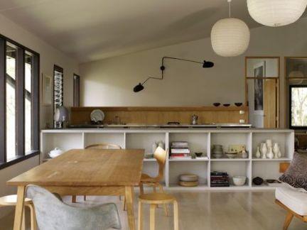 清新宜家风格原木色餐桌装修效果图