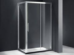 ROSERY玫瑰岛 两固一活方形淋浴房 PR-S131