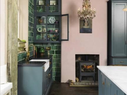 精致欧式风格典雅厨房装修实景图