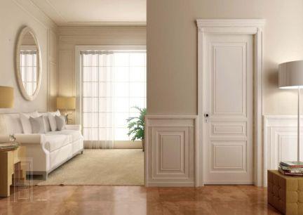 益圆木门实木复合烤漆门