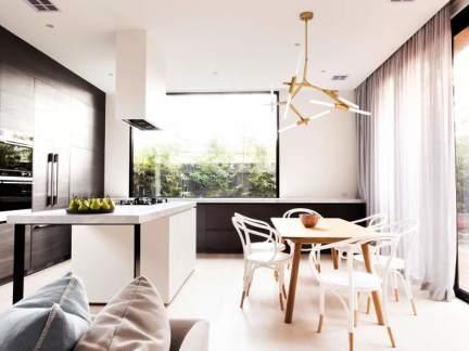 现代风格时尚设计感餐厅灯饰图片欣赏