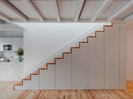 时尚简约风格复式个性楼梯设计图片