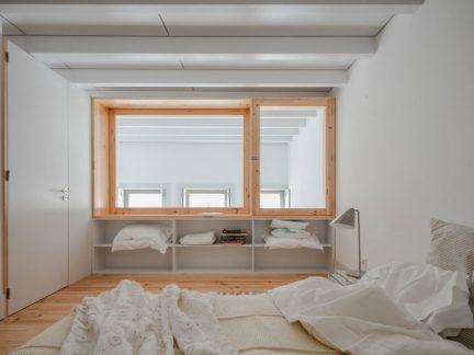 简约风格舒适恬淡卧室装修实景图