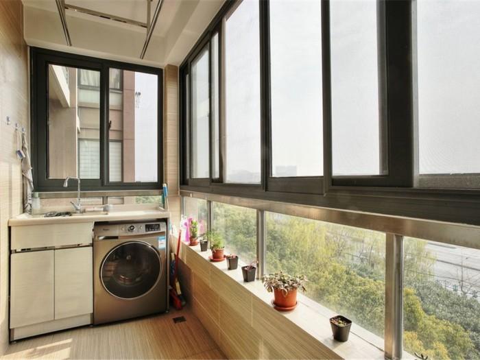 现代简约-98平米三居室-装修样板间