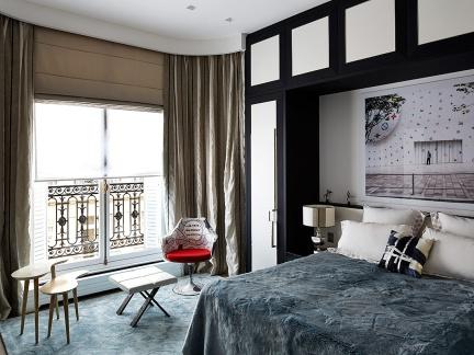 文艺个性混搭风格温馨卧室装修设计