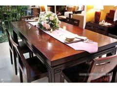 明清风韵长餐桌