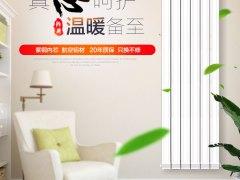 [御鼎]暖气片家用水暖供热卧室铜铝复合卫生间壁挂式散热片