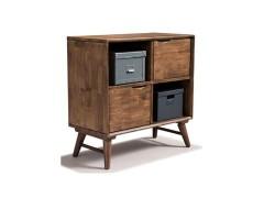 美伦美MRIC-FJ8079-1VS北欧风格纯实木精美组合柜