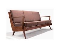 美伦美MRIC-FJ2973V北欧时尚家具纯实木沙发椅