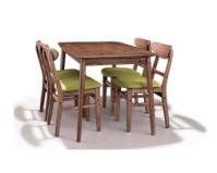 美伦美MRIC-FJ255V北欧风格精美餐椅纯实木图片