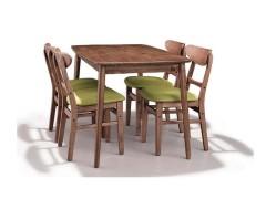 美伦美MRIC-FJ255V北欧风格精美餐椅纯实木