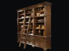 美伦美MHMT-626-3M3美式桦木框架水曲柳木大书柜