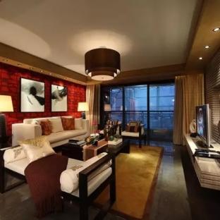 156平中式风格住宅 聆听一首青花瓷