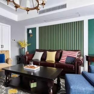 150平低调的华丽 简美复式公寓