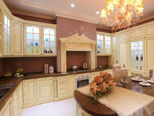 萨博整体厨房家居定制 欧式橱柜《伊丽莎白》